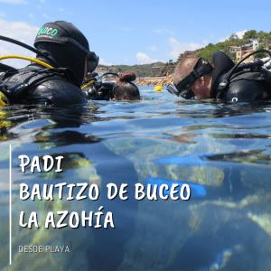 Padi Bautizo de buceo en La Azohía