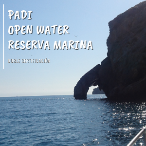 Padi Open Water Diver Reserva