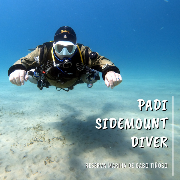 Curso sidemount diver