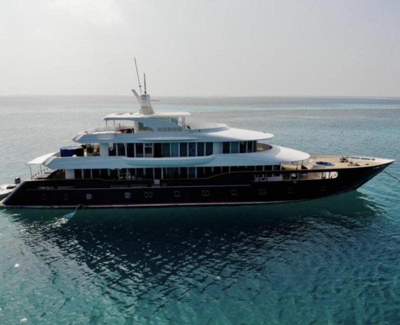 Barco de buceo de lujo Maldivas
